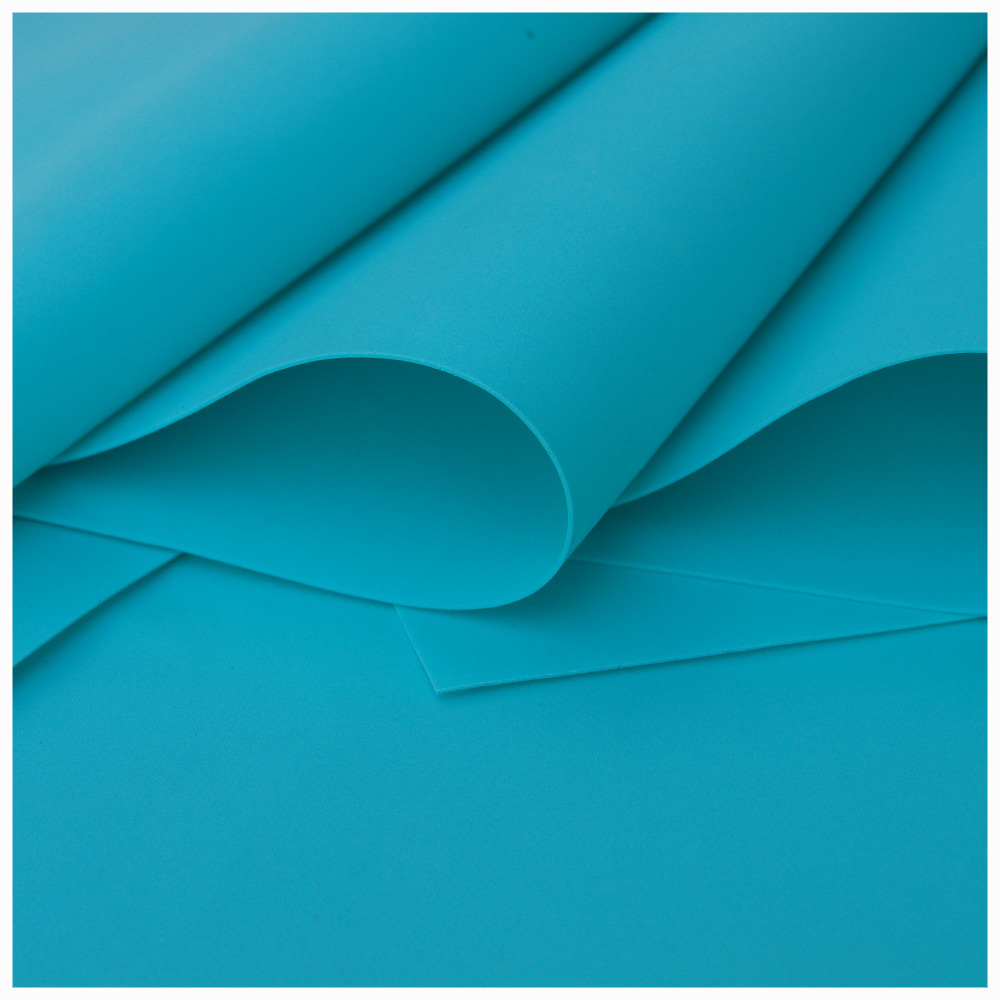 Turquoise Foamiran - Flower making foam (Large sheet 60 x 70cm)