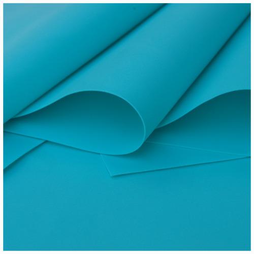 Turquoise Foamiran - Flower making foam (Large sheet 60 x 70cm)