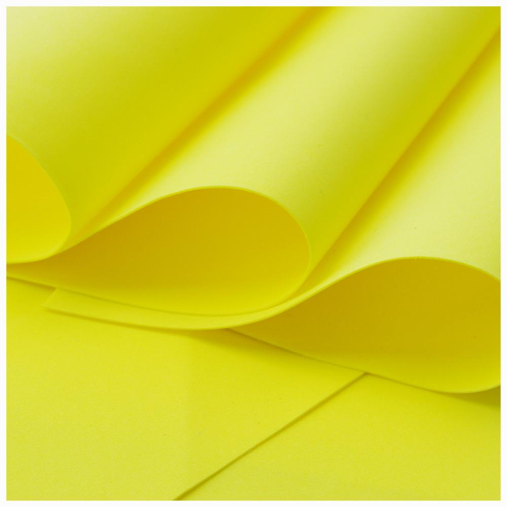 Yellow Foamiran - Flower making foam (Large sheet 60 x 70cm)