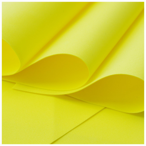 Yellow Foamiran - Flower making foam (Large sheet 60 x 70cm)