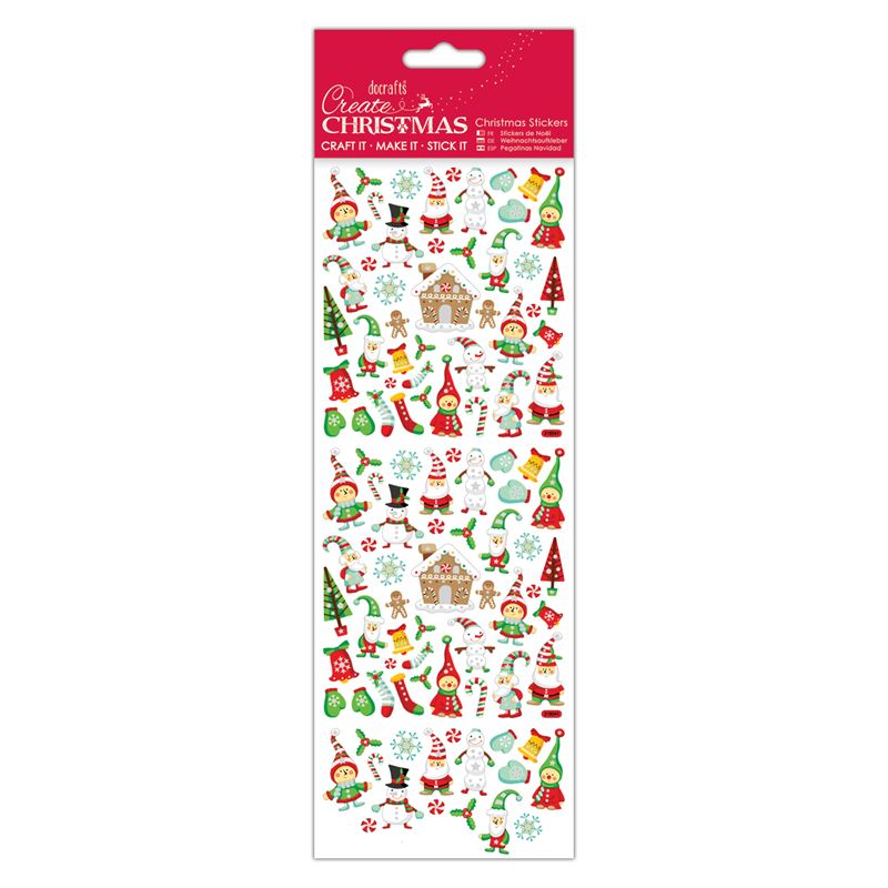Docrafts christmas stickers - Lapland