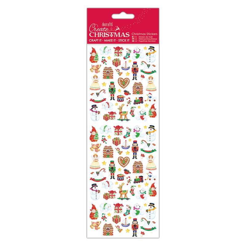 Docrafts christmas stickers - Christmas Toys