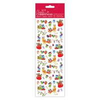 Docrafts christmas stickers - Reindeer Sleigh