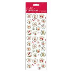 Docrafts christmas stickers - Festive Characters