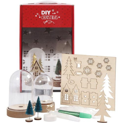 DIY festive bells kit