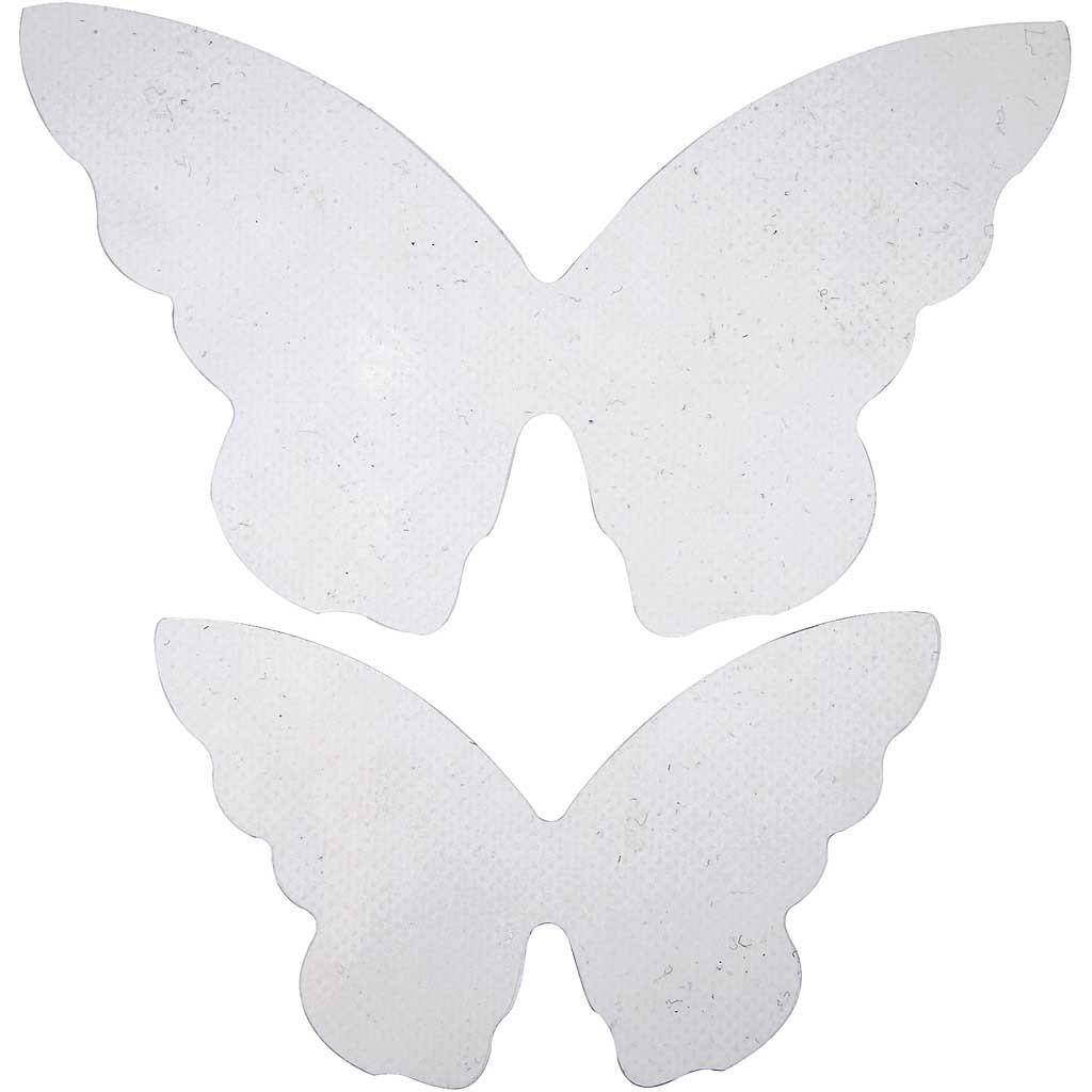 Butterfly Wings, size 12x7 cm, size 16x9,5 cm, 20pcs