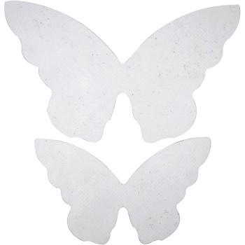 Butterfly Wings, size 12x7 cm, size 16x9,5 cm, 20pcs