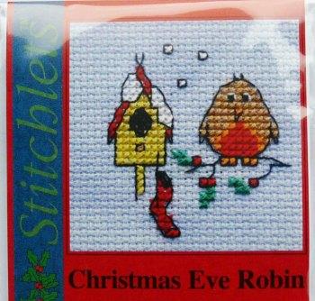 Mouseloft Christmas - Christmas Eve Robin