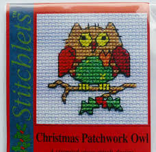 Mouseloft Christmas - Patchwork owl