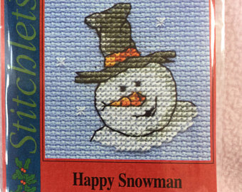 Mouseloft Christmas - Happy snowman