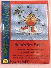 Mouseloft christmas - Robin's new wellies