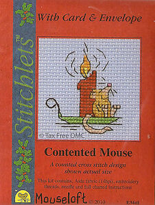 Mouseloft Chrustmas - Contented Mouse