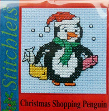 Mouseloft Christmas - Christmas Shopping Penguin