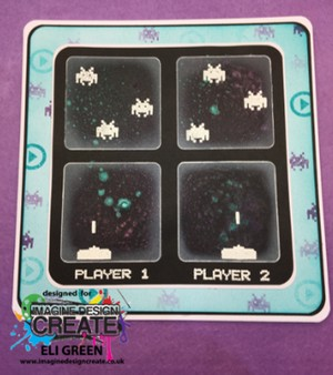 player 1 2 space invaders