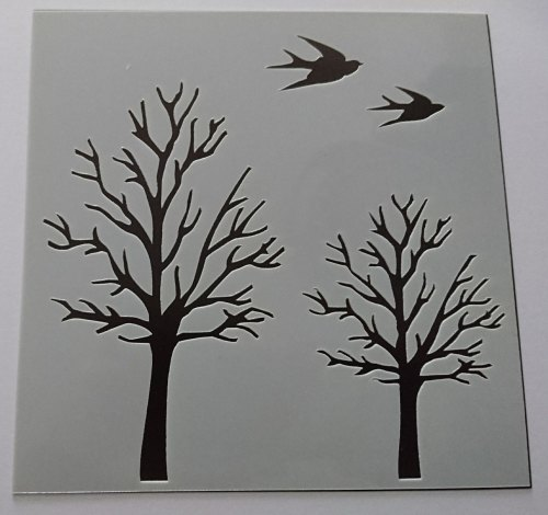 Birds and Trees 6x6