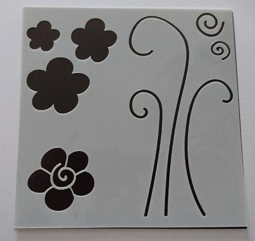Doodled Flowers 6x6