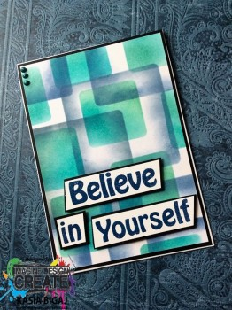 believe in yourself squares