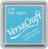 Versacraft Small Fabric Ink Pad for Stamps - Pale Aqua 139