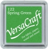 Versacraft Small Fabric Ink Pad for Stamps - Spring Green