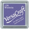 Versacraft Small Fabric Ink Pad for Stamps - Wisteria