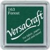 Versacraft Small Fabric Ink Pad for Stamps - Forest