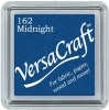 Versacraft Small Fabric Ink Pad for Stamps - Midnight