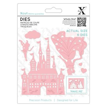 Dies (6pcs) - Princess & Castle