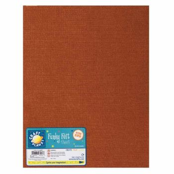 "9 x 12"" Acrylic Felt - Light Brown"