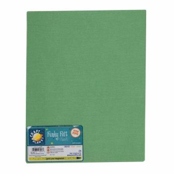 "9 x 12"" Acrylic Felt - Light Green"