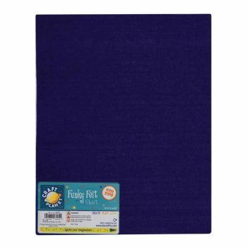 """9 x 12"""" Acrylic Felt - Navy Blue"""