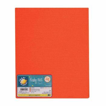 "9 x 12"" Acrylic Felt - Orange"