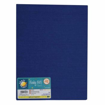 "9 x 12"" Acrylic Felt - Royal Blue"