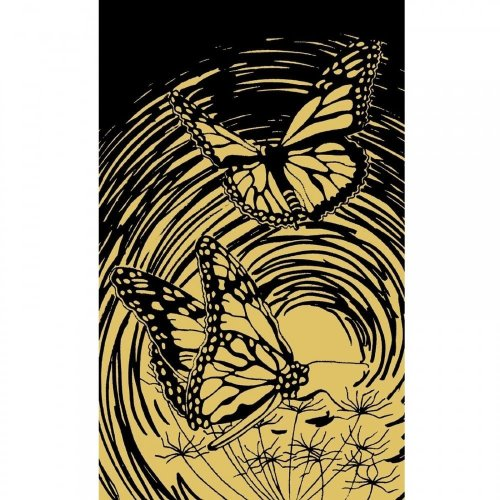 Reeves Butterfly Mini Gold Scraperfoil
