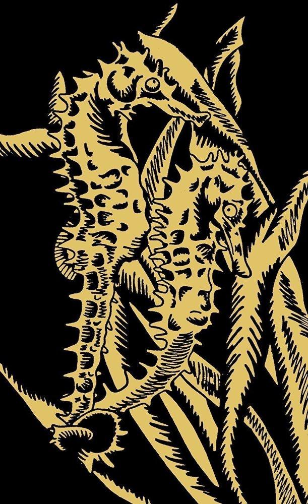 Reeves Seahorse Mini Gold Scraperfoil