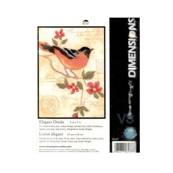 Dimensions Embroidery - Elegant Oriole