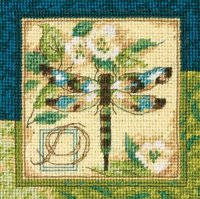 Dimension needlepoint - Dragonfly