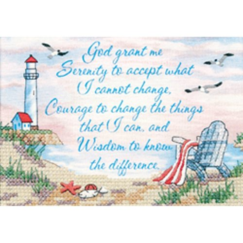 Dimensions cross stitch - Serenity prayer