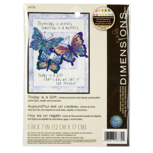 Dimensions cross stitch - Tody is a gift