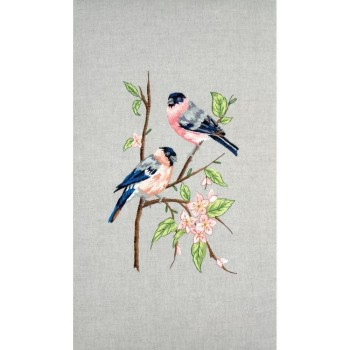 Anchor Freestyle Embroidery Kit - Bullfinches
