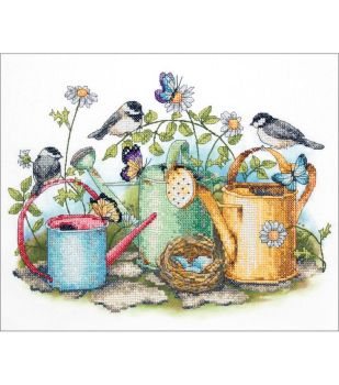 Dimensions cross stitch - Watering Can