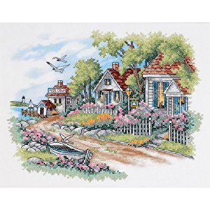 Dimensions cross stitch - Cotaage by the sea