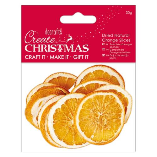 Dried Natural Orange Slices (30g)