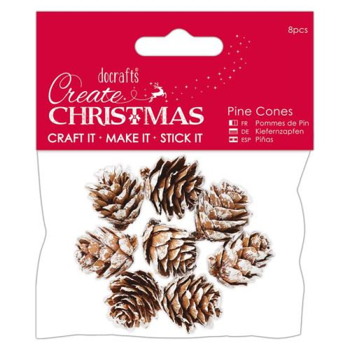 White Pine Cones (8pcs) - Small