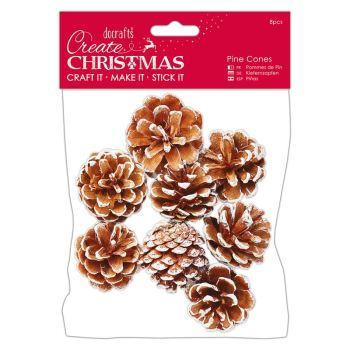 White Pine Cones (8pcs) - Large