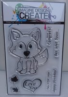 Finley the Fox : IDC0110 A7 stamp set