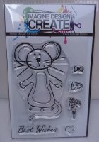 Maisie Mouse : IDC0109 A7 stamp set