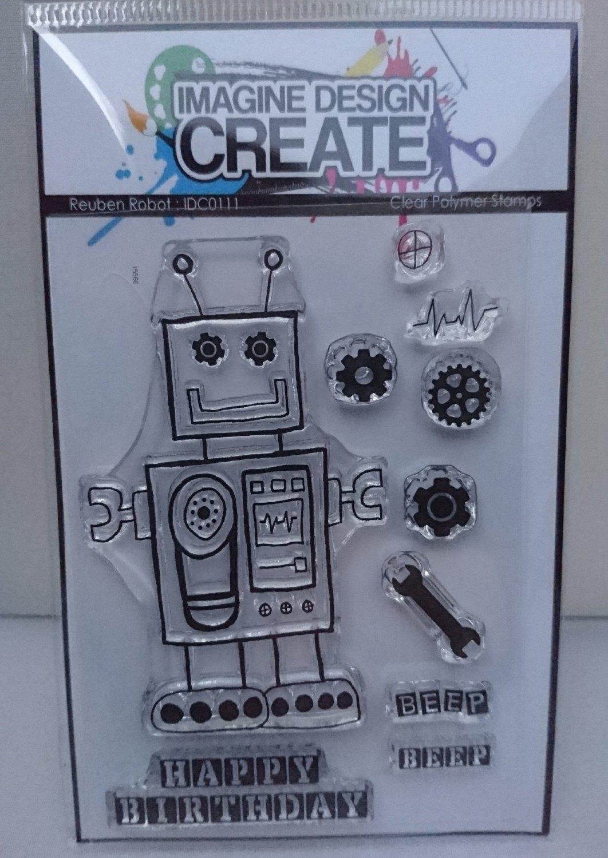 Reuben Robot : IDC0111 A7 stamp set