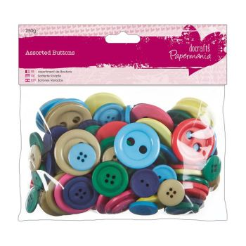 Assorted buttons - Brights