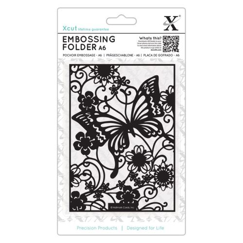 A6 Embossing Folder - Butterfly Meadow