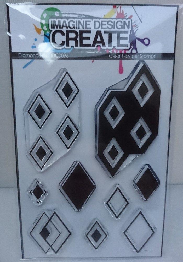 Diamond Mix : IDC0096 A6 stamp set